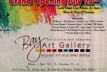 Bay Art Gallery 2014 Grand Opening! / Come & enjoy a night of mingling with the artists!
