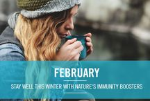 Year of Natural Wellbeing - February Immunity / by Neal's Yard Remedies