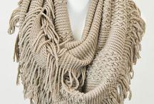 Knitting  ( chusty, szale ) / knitting