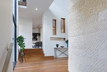 Latitude 37: Horizon Custom Display Home / This luxurious home is flooded in lovely Northern sun and maximises privacy, providing an urban oasis with an integrated horizon edge pool and fitted alfresco area. The soaring double height alfresco roof also forms a void over the dining area. The home has been cleverly designed to ensure that almost every room shares a view across the spectacular pool and alfresco area.