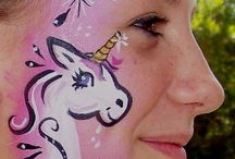 Face painting - mystical