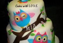 Sofía Birthday owl