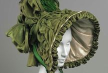 Millinery- Fabric / Hats made of fabric- including buckram based- through history.