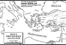 Pál missziói útjai