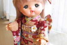 Mertsjan od. Merchan japanische Puppe