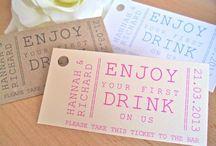 Drinks vouchers