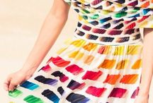 Rainbow In the Haute Couture. Chanel, Valentino & More