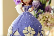 Sofia the first bday party / by Kristen Easter