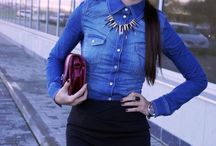 OUTFITS WITH DENIM SHIRT
