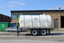 Pump and Contain Sewage / The newest high capacity waste containment system/honey wagon from wastecorp