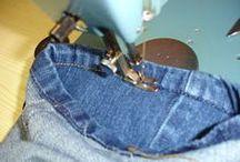 bainha de calça  jeans