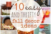 Fall / Fall Crafts and Decorations for the home and family!