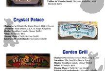 Personaje Disney restaurant