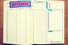 Inspirations bullet journal