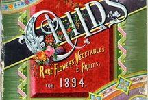 Vintage Seed Packet Art