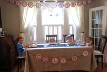 Airplane Birthday Party / by Merriment Design :: Kathy Beymer