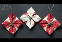 Ornaments / Fabric ornaments, shells