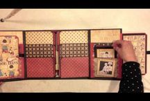 Scrapbook Folio Albums