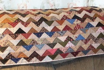 Quilt How To's & Completed / So creative to take pieces of this and pieces of that and transform it into a thing of beauty.  / by Pat A. Thompson