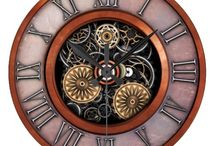 Steampunk Clocks / Steampunk style clock designs available from Zazzle