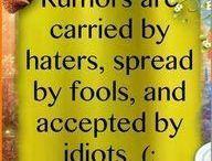 Sayings:)