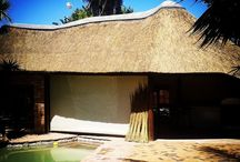 Traditional Thatch Roofs / A Thatch roof or Lapa is a great addition to any outdoor area. It brings the natural traditional outdoor feeling of wanting to spend time outside and experiencing the two different climate changes during the year.  Winter, it's naturally warm inside and in the summer the opposite.  It adds character and value to your home.