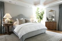 bedrooms / Soothing neutral tones, textures and coziness