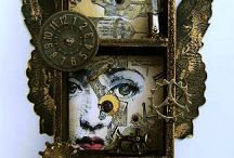 Assemblage / Artists that can use found objects to create these types of amazing decor, art and sculptures absolutely amaze me.