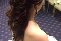 wedding hair&make