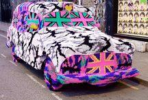 Graffity knitting