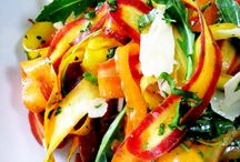 Recipes (Healthy Snacks and Salads) / by Kristyn P