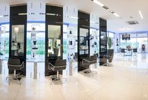 Saloni Egidio Borri / Interior design beauty salon Egidio Borri