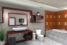 bathroom design / by Kristina Duffin