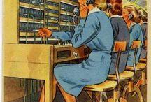 Vintage adverts / prints