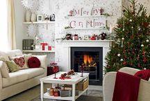 Living room Christmas ideas