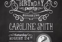 18th birthday part invites