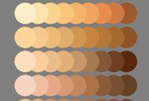 Colores gamas