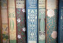 Book Spines Art