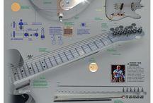 Bajos y guitarras