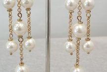 Aros con perlas