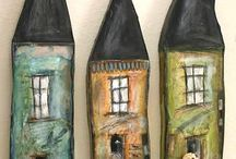 CERAMIC HOUSES / ART