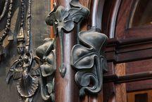 Art Nouveau and antique