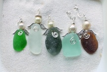 貝殻シーガラス小物