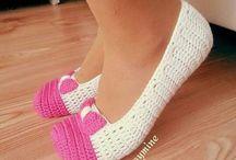 Вязанная обувь