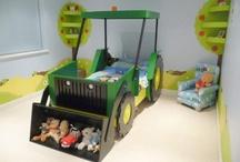 Traktoros szoba