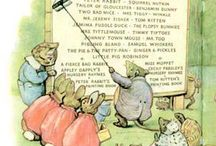 Beatrix Potter / I LOVED Peter Rabbit as a kid......so much so that my daughter's nursery was a Peter Rabbit theme!