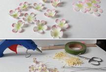 фоамиран цветы