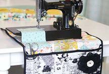 Opbevaring vedr. symaskine