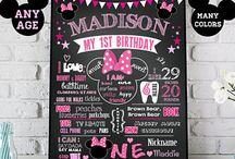 Madisyn's First Birthday