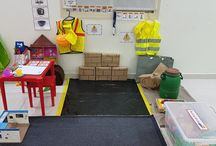 Role Play Areas / Find some of our easy to set up role play areas at home - great for pretend play - and initiatives to start mark-making and writing.
